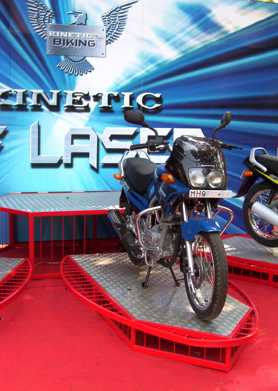 Exhibition stall for kinetic engineering
